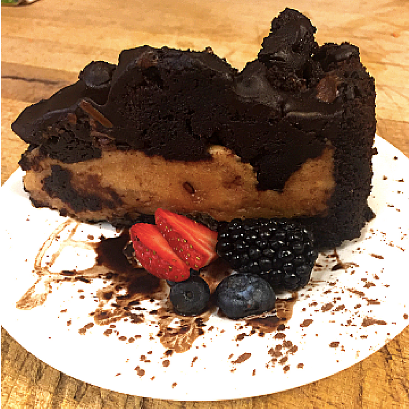 Chocolate Peanut Butter Pie - Carriage House