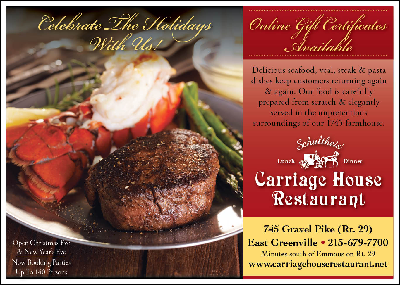 Holiday Events at the Carriage House