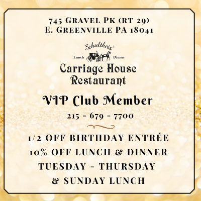 Carriage House VIP Club